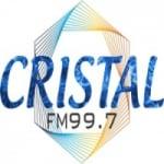 Logo da emissora Rádio Cristal 99.7 FM