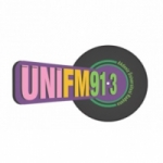 Logo da emissora Radio Uni 91.3 FM