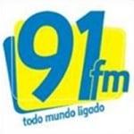 Logo da emissora Rádio 91 FM