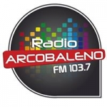 Logo da emissora Radio Arcobaleno 103.7 FM