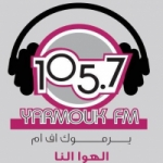 Logo da emissora Radio Yarmouk 105.7 FM