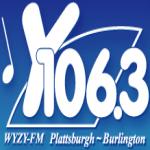 Logo da emissora WYZY 106.3 FM