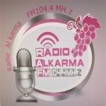 Logo da emissora Radio Al Karma 104.4 FM