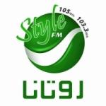 Logo da emissora Radio Rotana Style 105.0 FM
