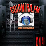 Logo da emissora Rádio Goianira FM