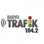 Logo da emissora Radio Trafik 104.2 FM