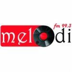 Logo da emissora Radio Melodi 99.3 FM