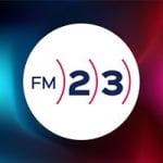 Logo da emissora Radio 23 88.8 FM