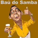 Logo da emissora Rádio Baú do Samba
