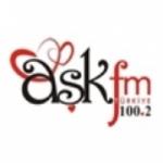 Logo da emissora Radio Ask FM Turkiye 100.2