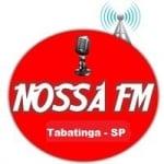 Logo da emissora Rádio Nossa FM