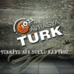 Logo da emissora Radio Avrasya Turk 107.1 FM