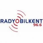 Logo da emissora Radio Bilkent 96.6 FM