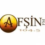Logo da emissora Radio Afsin 104.5 FM