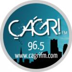Logo da emissora Radio Çagri 96.5 FM