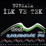 Logo da emissora Bursa Karadeniz 104.4 FM