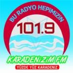 Logo da emissora Radio Karadenizim 101.9 FM