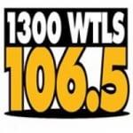 Logo da emissora WTLS 106.5 FM