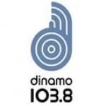 Logo da emissora Radio Dinamo 103.8 FM