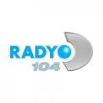 Logo da emissora Radio D 104.0 FM