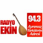 Logo da emissora Radio Ekin 94.3 FM