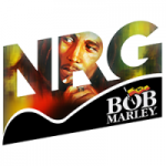 Logo da emissora NRG Radio Bob Marley