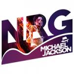 Logo da emissora NRG Radio Michael Jackson