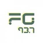 Logo da emissora Radio FG 93.7 FM
