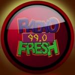 Logo da emissora Radio Fresh 99.0 FM