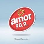 Logo da emissora Radio Amor 90.9 FM