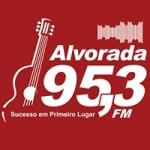 Logo da emissora Rádio Alvorada 95.3 FM
