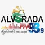Logo da emissora Rádio Alvorada 93.9 FM