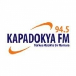 Logo da emissora Radio Kapadokya 94.5 FM