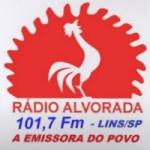 Logo da emissora Rádio Alvorada 1080 AM