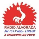 Logo da emissora Rádio Alvorada 101.7 FM