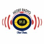 Logo da emissora Hedef 91.8 FM