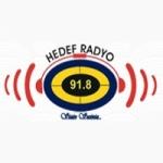 Logo da emissora Hedef Radio 91.8 FM