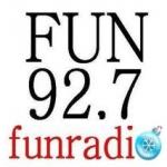 Logo da emissora WAFN 92.7 FM FUN