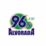 Logo da emissora Rádio Alvorada 96.5 FM