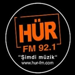 Logo da emissora Hür FM Radio 92.1