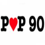 Logo da emissora Radio Pop 90
