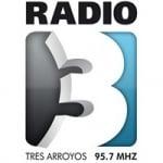 Logo da emissora Radio 3 95.7 FM