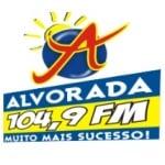 Logo da emissora Rádio Alvorada 104.1 FM