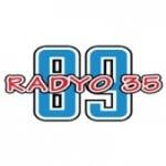 Logo da emissora Radio 35 89.0 FM
