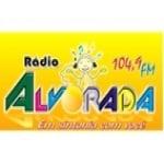 Logo da emissora Rádio Alvorada 104.9 FM