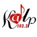 Logo da emissora Radio Kalp 102.2 FM