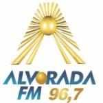 Logo da emissora Rádio Alvorada do Sul 96.7 FM