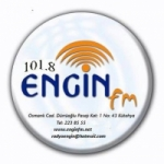 Logo da emissora Radio Engin 101.8 FM