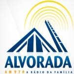 Logo da emissora Rádio Alvorada 970 AM
