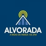 Logo da emissora Rádio Alvorada 106.3 FM